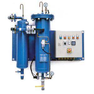 Automatisk renseanlegg for diesel, KFWA serie