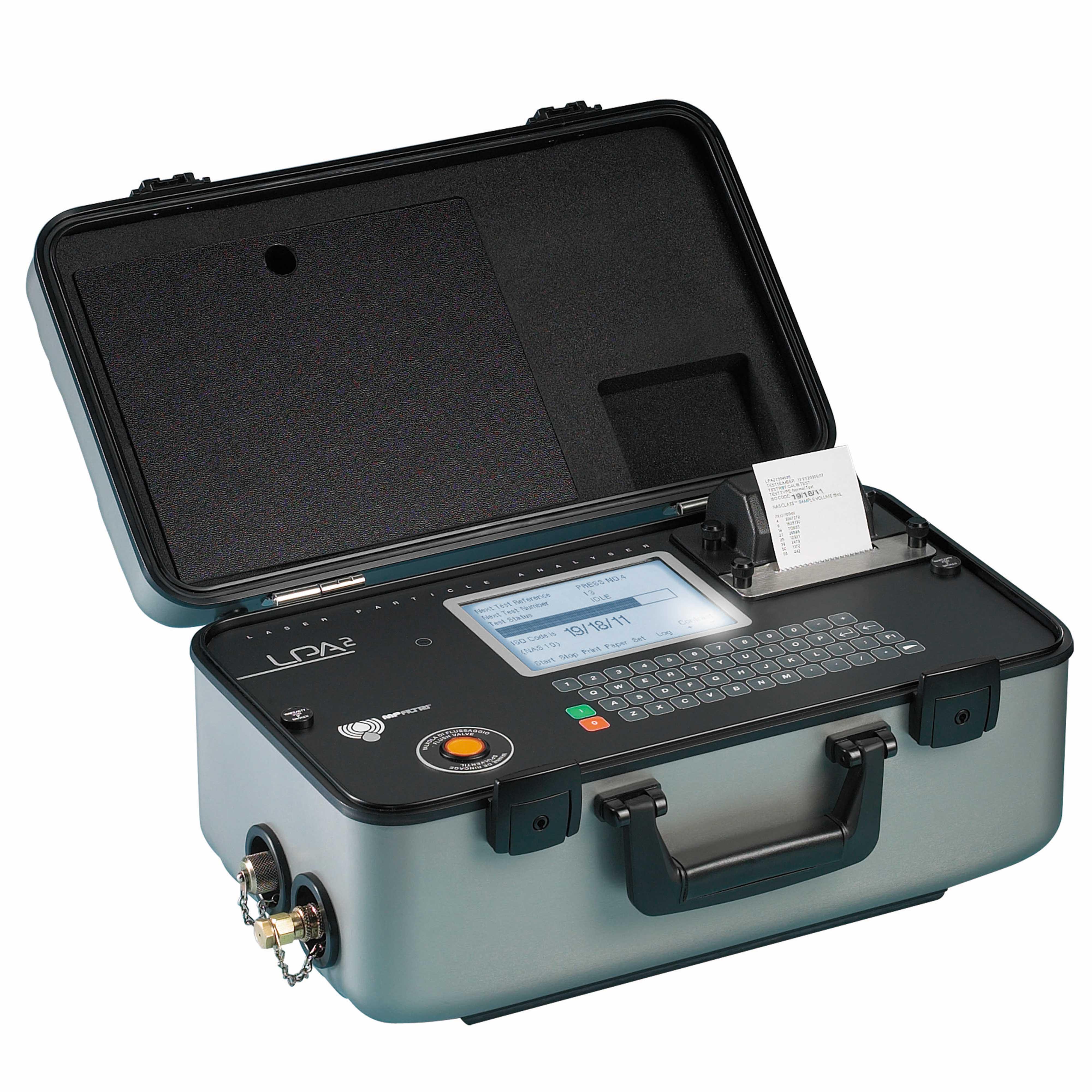 Mobil partikkelteller for hydraulikk og smøreolje, varenummer LPA2WMC1B30