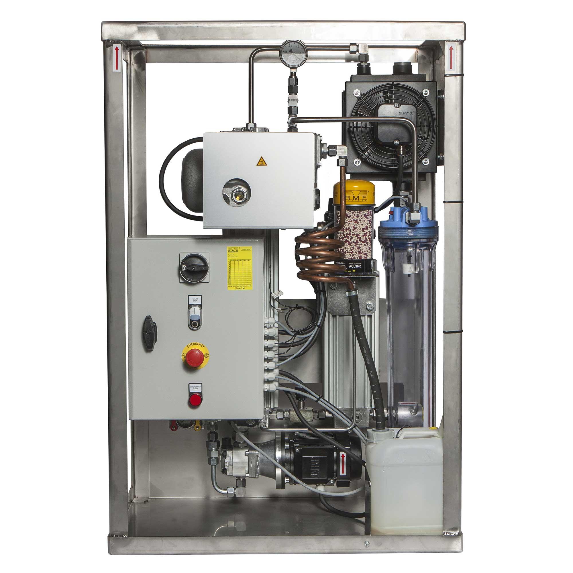 Vakuumaggregat for vedlikehold av hydraulikk og smøreolje, varenummer MWV1A30G1B060000