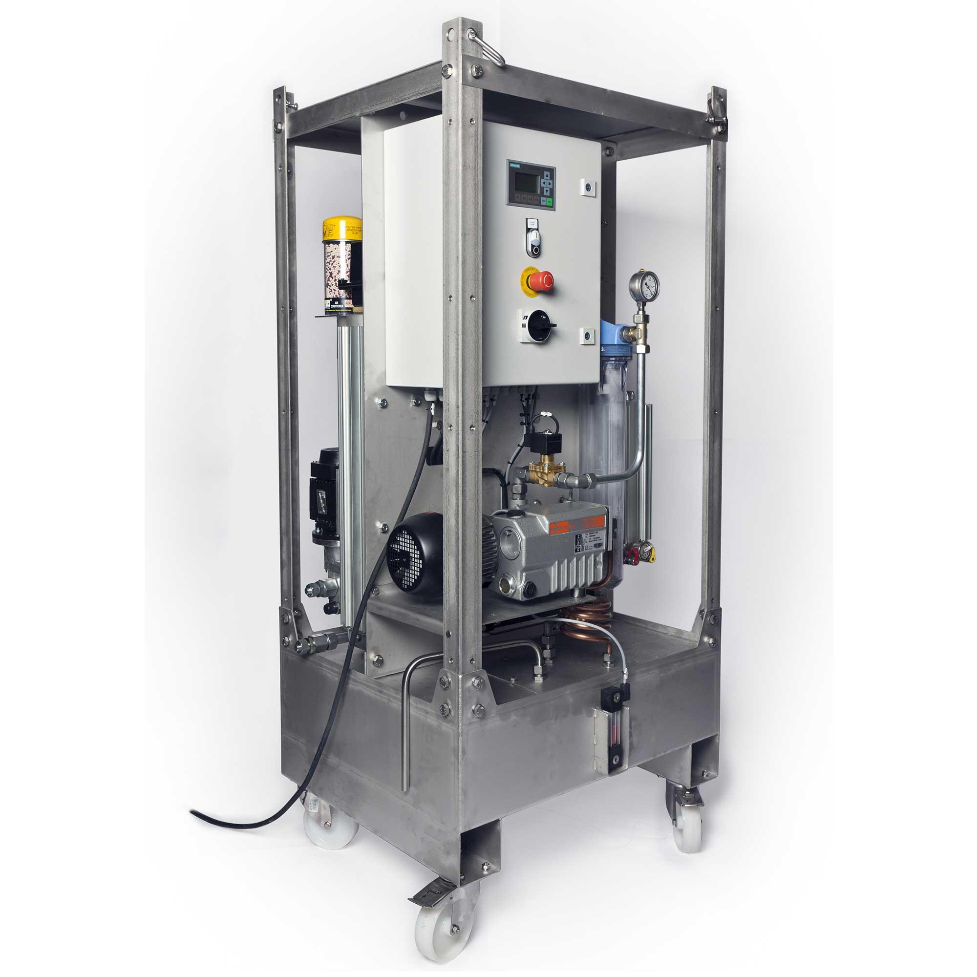 Maxi vakuumaggregat for vedlikehold av hydraulikk og smøreolje, varenummer MXWV1A30G3B070100