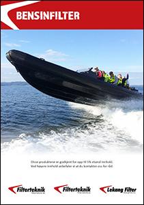 Bensinfilter til fritidsbåter