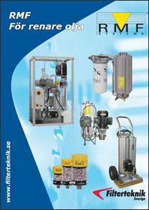 Last ned brosjyren med RMF filter og utstyr for overvåking for hydraulikk og smøreolje