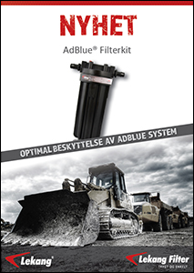 AdBlue Filterhus Kit for AdBlue tanker
