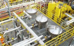 Filter og strainere for olje og gass industri